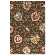 Jaipur Elliot Rug From Blossom Collection BSM11 - Brown/Orange
