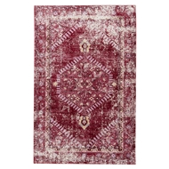 Jaipur Eris Rug From Ceres Collection CER08 - Red/Pink