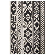 Jaipur Farid Rug From Urban Bungalow Collection UB30 - Ivory/Black
