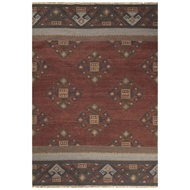Jaipur Fennel Rug From Anatolia Collection AT14 - Red/Multi-Colored