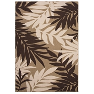 Jaipur Fern Rug From Bloom Collection BLO02 - Brown/Taupe