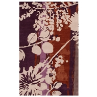 Jaipur Flor Rug From En Casa By Luli Sanchez LST03 - Red/Purple
