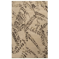 Jaipur Fossil Branch Rug From En Casa By Luli Sanchez LST54 - Taupe/Ivory