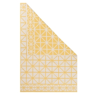 Jaipur Framework Rug From Graphic By Petit Collage Collection GBP03 - Yellow/Ivory