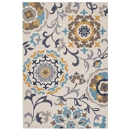 Jaipur Garden Rug From Blossom Collection BSM02 - Taupe/Tan