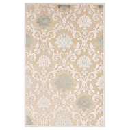Jaipur Glamourous Rug From Fables Collection FB88 - Ivory/White