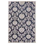 Jaipur Glamourous Rug From Fables Collection FB78 - Blue/Ivory