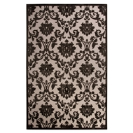 Jaipur Glamourous Rug From Fables Collection FB110 - Ivory/Black