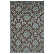 Jaipur Glamourous Rug From Fables Collection FB86 - Brown/Blue