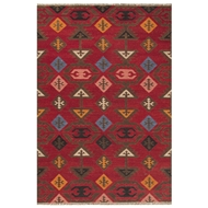 Jaipur Huntington Rug From Anatolia Collection AT13 - Red/Multi-Colored
