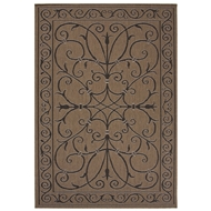 Jaipur Iron Work Rug From Breeze Collection BRZ13 - Taupe/Black
