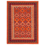Jaipur Izmir Rug From Anatolia Collection AT06 - Orange/Red