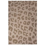 Jaipur Jaguar Rug From National Geographic Home Collection NGF02 - Tan