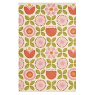 Jaipur Joliet Rug From Iconic By Petit Collage Collection IBP04 - Pink/Green