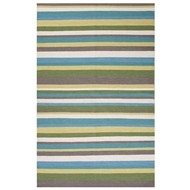 Jaipur Kahlib Rug From Maroc Collection MR102 - Green/Blue