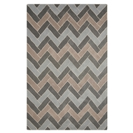 Jaipur Kiva Rug From Lounge Collection LOE31 - Blue/Gray