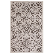 Jaipur Lacie Rug From Fables Collection FB87 - Brown/Ivory
