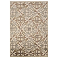 Jaipur Lippia Rug From Harper Collection HAR06 - Ivory/White
