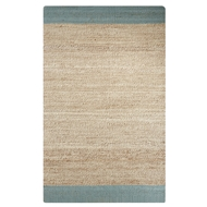 Jaipur Mallow Rug From Naturals Tobago Collection NAT11 - Blue/Natural
