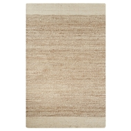 Jaipur Mallow Rug From Naturals Tobago Collection NAT12 - Ivory/Natural