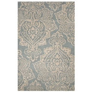 Jaipur Mekensa Rug From Bristol By Rug Republic Collection BRI13 - Blue/White