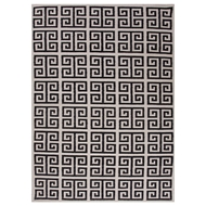 Jaipur Melina Rug From Urban Bungalow Collection UB05 - Ivory/Black