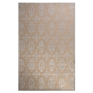 Jaipur Monica Rug From Fables Collection FB125 - Ivory/Blue