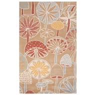 Jaipur Mushrooms Rug From En Casa By Luli Sanchez LST40 - Multi-Colored/Ivory