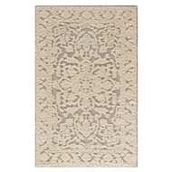 Jaipur Mutulu Rug From Shakur By Nikki Chu Collection SNC01 - Neutral/Gray
