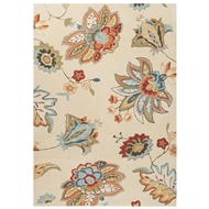 Jaipur Nova Rug From Blossom Collection BSM08 - Ivory/Orange