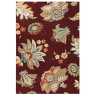 Jaipur Nova Rug From Blossom Collection BSM09 - Red/Yellow