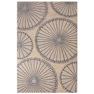 Jaipur Organism Rug From National Geographic Home Collection NTP04 - Ivory/Blue