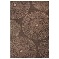 Jaipur Organism Rug From National Geographic Home Collection NTP03 - Brown