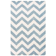 Jaipur Paris Rug From Traverse Collection TV31 - Blue/Ivory