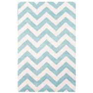 Jaipur Paris Rug From Traverse Collection TV46 - Blue/Ivory