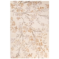 Jaipur Peoria Rug From Windsor by Rug Republic Collection WID03 - Ivory/White