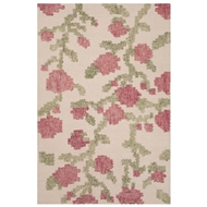 Jaipur Picked Rug From Stitched Collection STI01 - Ivory/White