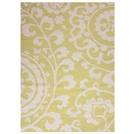 Jaipur Rania Rug From Maroc Collection MR22 - Green/Ivory