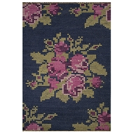 Jaipur Roseburg Rug From Belle Collection BLL01 - Purple/Pink