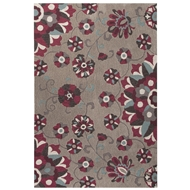 Jaipur Rossini Rug From Blossom Collection BSM16 - Gray/Purple