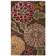 Jaipur Shanghai Rug From Bristol By Rug Republic Collection BRI18 - Brown/Multi-Colored
