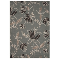 Jaipur Spring Rug From Bloom Collection BLO06 - Blue/Black