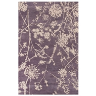 Jaipur Tabor Rug From En Casa by Luli Sanchez LST65 - Purple/Ivory