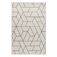Jaipur Titan Rug From Jada Collection JAD07 - White/Gray