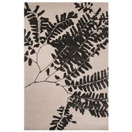 Jaipur Umbra Rug From Shadow Collection SHO04 - White/Black