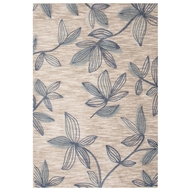 Jaipur Vine Rug From Brio Collection BR57 - Ivory/Blue
