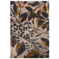 Jaipur Wild Flowers Rug From En Casa By Luli Sanchez LST02 - Gray/Orange