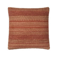 "Magnolia Home 22"" x 22"" Mikey Pillow Rust - P1033 by Joanna Gaines"