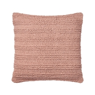 "Magnolia Home 22"" x 22"" Amelia Pillow Blush - P1041 by Joanna Gaines"