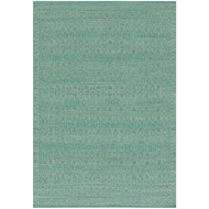 Magnolia Home Emmie Kay Rug by Joanna Gaines - Turquiose / Dove